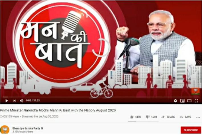 सोशल मीडिया पर ताक़तवर बीजेपी के यूट्यूब वीडियो पर लगातार डिसलाइक क्यों?