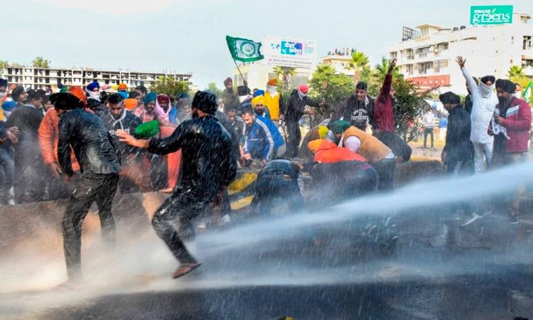 किसानों और पुलिस की झड़प के बाद मुख्यमंत्री मनोहर लाल खट्टर की महापंचायत रद्द