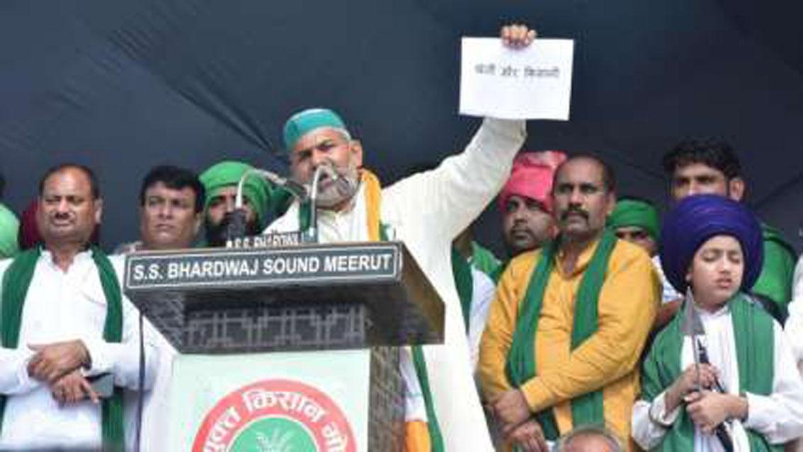 क्या किसान आंदोलन हिंदुत्व का चश्मा उतार फेंकेगा?